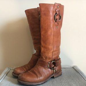 Beautiful worn Frye boots